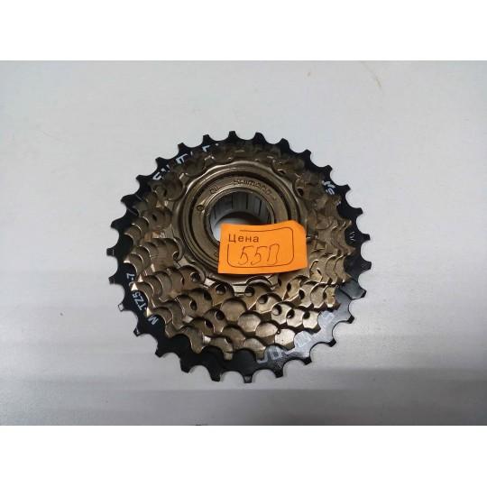 Велосипедная трещотка Shimano 7-скоростная MF-TZ500-7