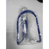 Флягодержатель алюминиевый синий HC11